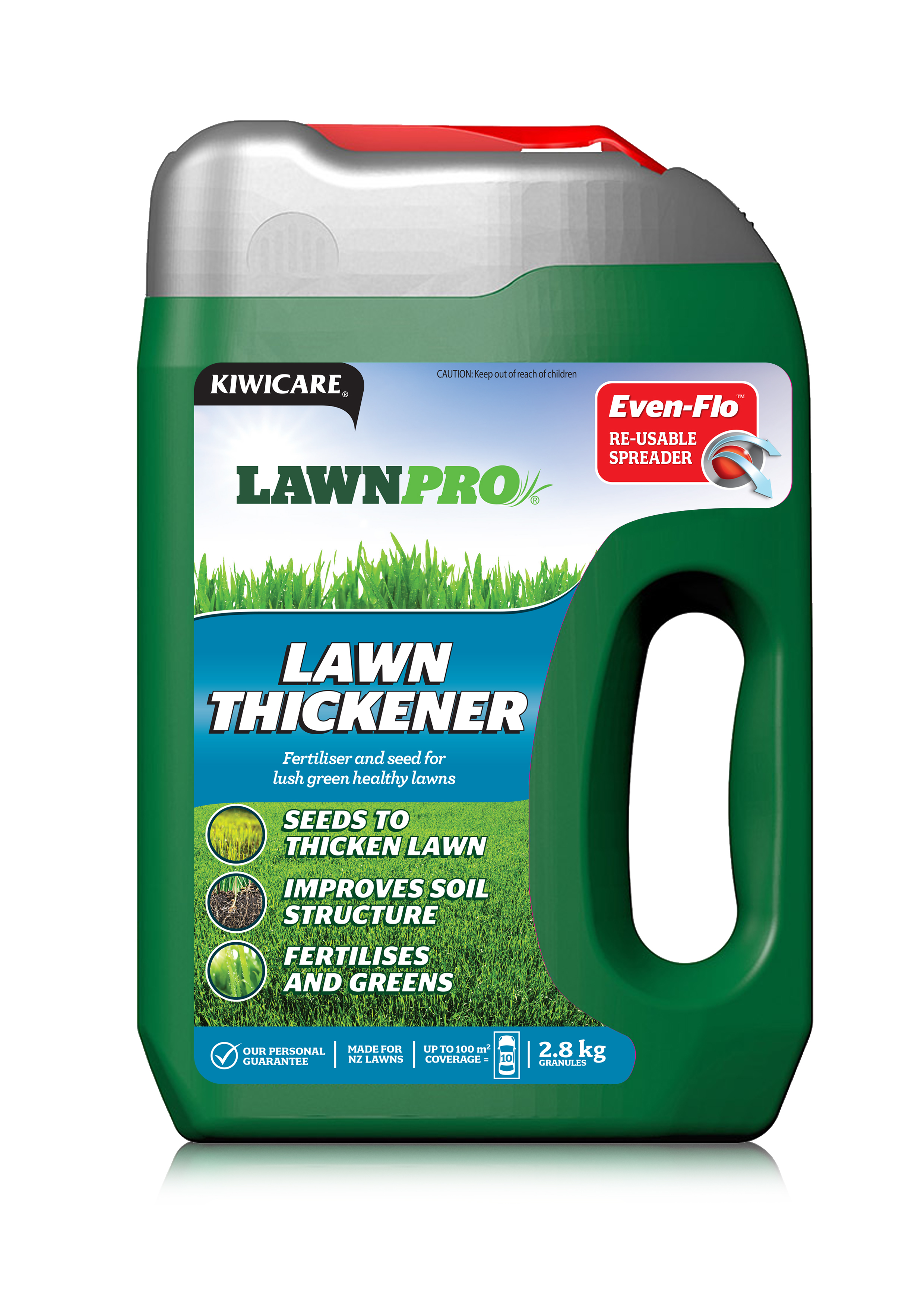 Lawnpro Lawn Thickener For A Thicker And Healthier Lawn