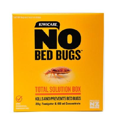 No Bed Bugs Box Fumigator And Spray