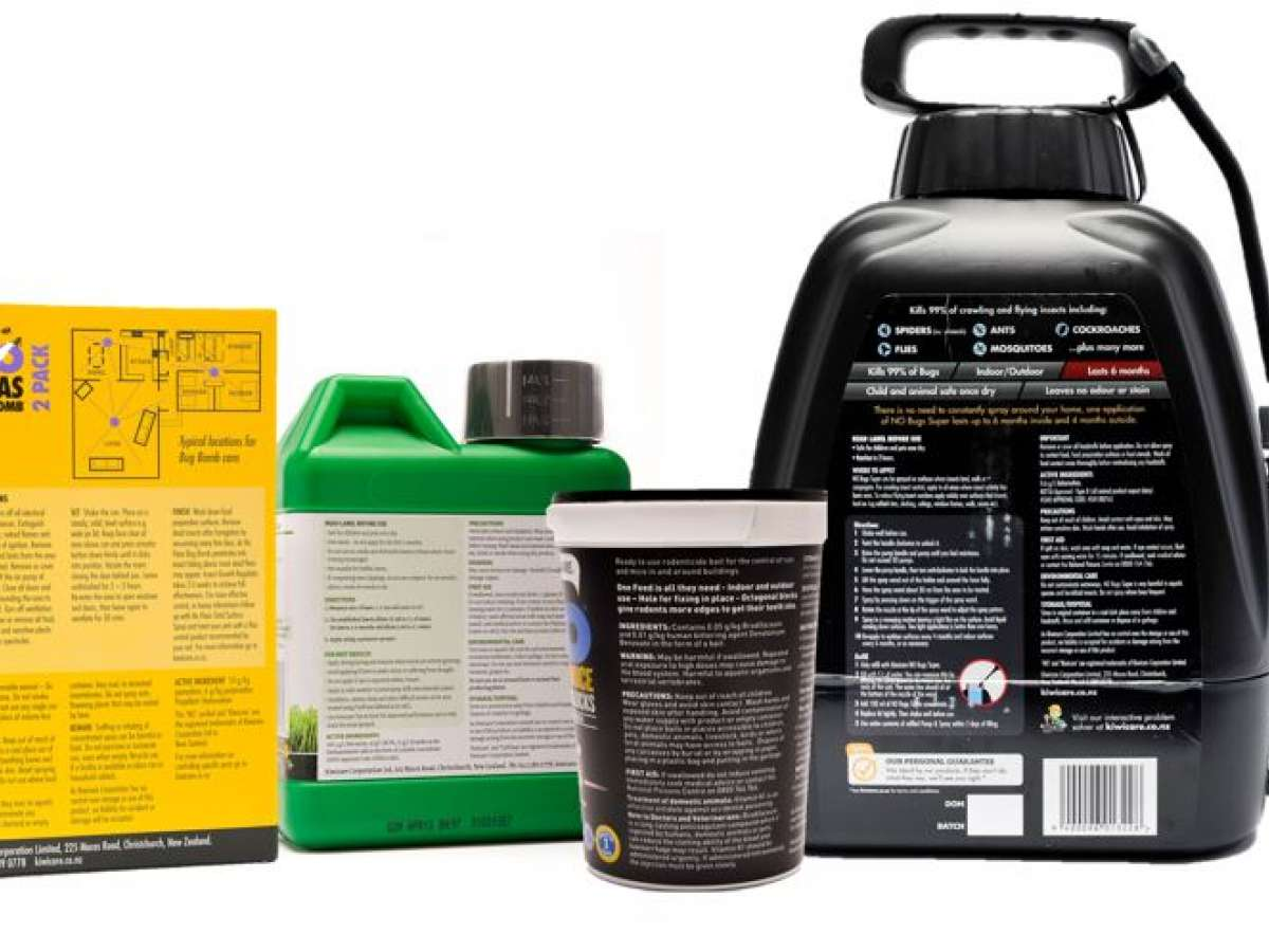 Meaning of Hazard Labelling on Garden Products