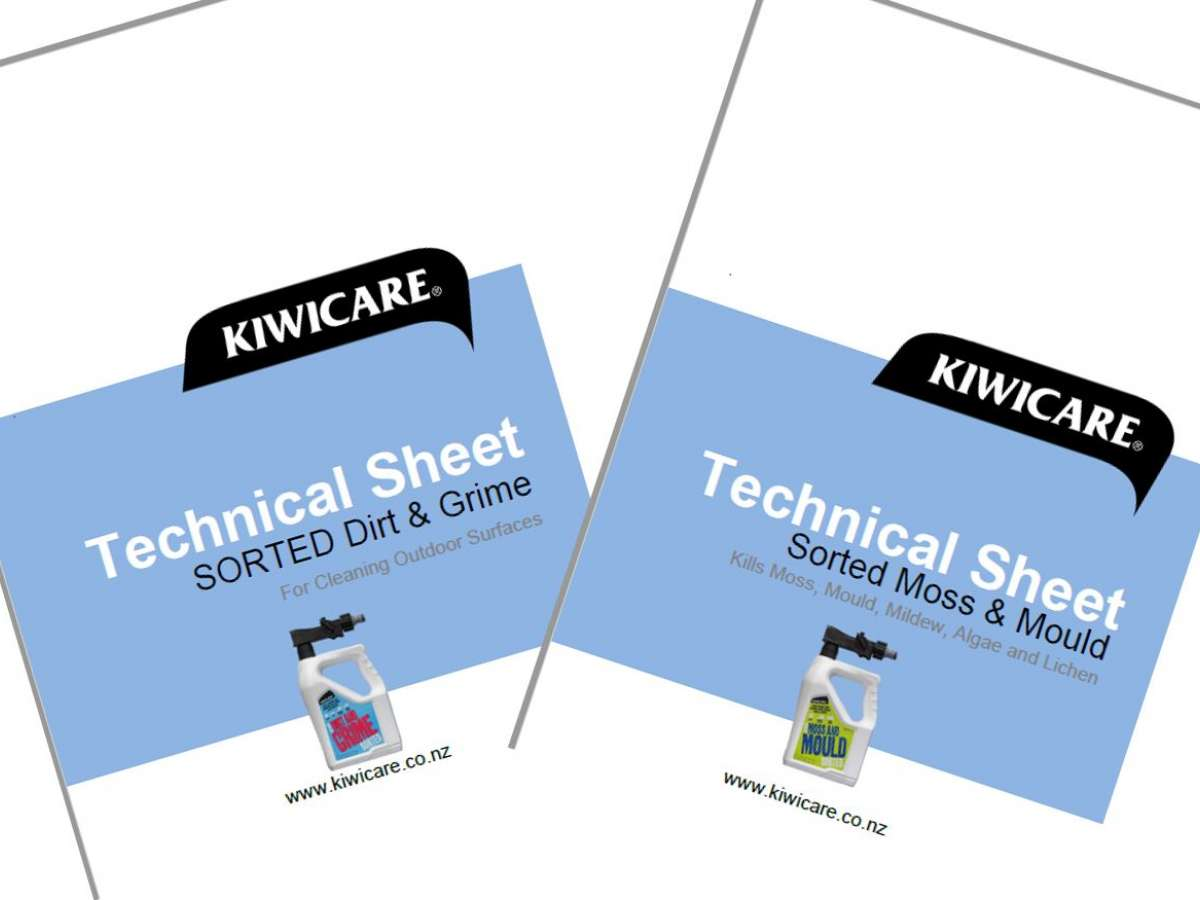 Cleaning Product Technical Sheets